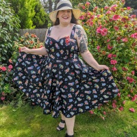 Hell Bunny Tiki Treat 50s Dress