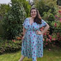 Lady V Lyra Spring Bird Tea Dress