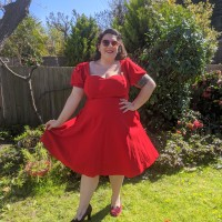 Collectif Paisley Swing Dress